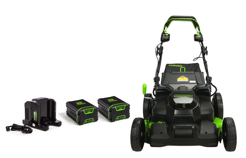 82V Self-Propelled 25-Inch Lawn Mower | Greenworks Commercial