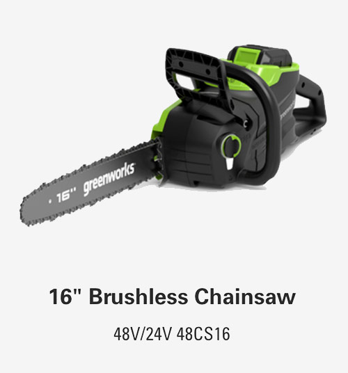 16-Inch Brushless Chainsaw | Greenworks Commercial