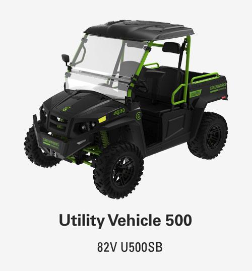 82V Utility Vehicle 500 | Greenworks Commercial